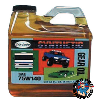 CRC Syn-Go Synthetic Gear Oils, 1/2 gal Bottle (4 CS/PKG)