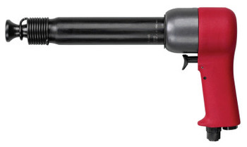 Chicago Pneumatic Riveting Hammers, 2 11/16 in Stroke L, 1,560 blows/min, Pistol Grip (1 EA/CA)