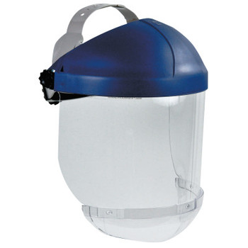 3M Ratchet Headgear, Head and Face Protection, with Clear Chin Protector (1 EA/EA)