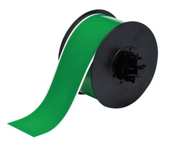 Brady BBP31 Indoor/Outdoor Vinyl Tapes, 100 ft x 2 1/4 in, Green (1 RL/EA)