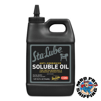 CRC Soluble Oils, Bottle, 1 qt (12 BTL/EA)