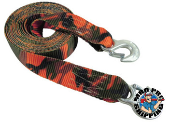 Keeper Emergency Tow Straps 6.38 in W, 3 1/4 in L (4 EA/EA)