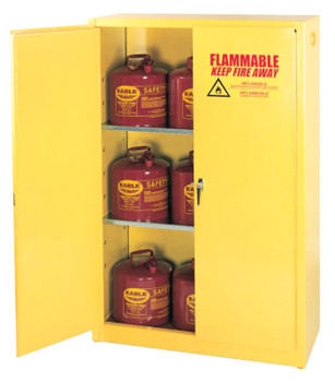 Eagle Mfg Flammable Liquid Storage, Manual-Closing Cabinet, 45 Gallon (1 EA/EA)