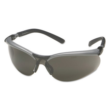 3M BX Safety Eyewear, Gray Lens, Anti-Fog, Hard Coat, Black/Silver Frame, Nylon (20 EA/EA)