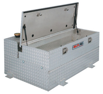 Delta Consolidated Fuel-'N-Tool Transfer Tanks w/Removable Storage Chest, L-Shaped, 74 gal/4.5 cuft (1 EA/EA)