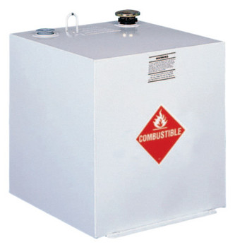 Apex Tool Group Liquid Transfer Tanks, Square, 50 gal to 55 gal, Steel, White (1 EA/EA)