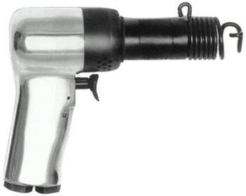 Chicago Pneumatic Riveting Hammers, 2 in Stroke L, 2,580 blows/min, Pistol Grip (1 EA/EA)