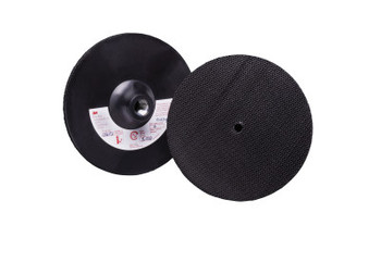 3M Hook and Loop Disc Pad, 4 in Diameter (1 EA/EA)