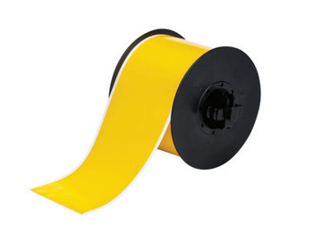 Brady BBP31 Indoor/Outdoor Vinyl Tapes, 100 ft x 3 in, Yellow (1 RL/EA)