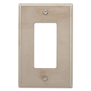 Cooper Wiring Devices WALLPLATE 1G DECORATOR MID SS (10 EA/EA)