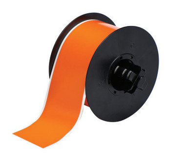 Brady BBP31 Indoor/Outdoor Vinyl Tapes, 100 ft x 2 1/4 in, Orange (1 RL/ST)