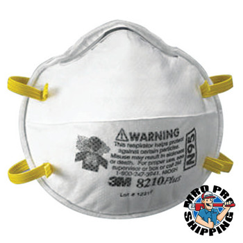 3M N95 Particulate Respirators, Half Facepiece, Non-Oil based filter (20 BX/EA)