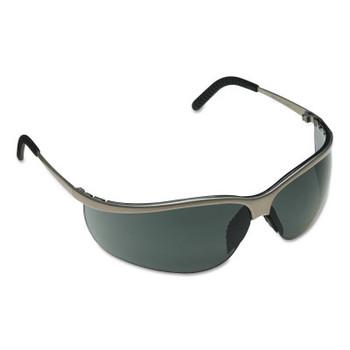 3M Metaliks Sport Safety Eyewear, Gray Lens, Anti-Fog/HC, Brushed Nickel Frame (20 EA/EA)