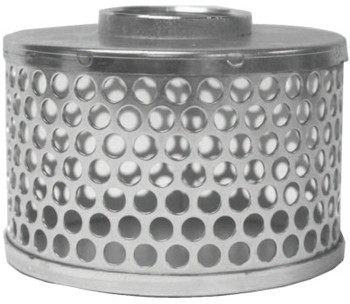 Dixon Valve Threaded Round Hole Strainers, Strainer, 3 in Inlet (1 EA/ST)