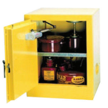 Eagle Mfg Flammable Liquid Storage, Self-Closing Cabinet, 4 Gallon (1 EA/EA)