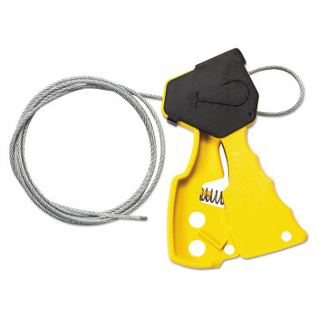 Brady Cable Lockout Devices, Yellow (1 EA/EA)