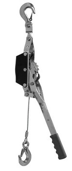 Apex Tool Group Cable Pullers, 1 1/2 Tons Capacity, 10.5 ft Lifting Height (1 EA/EA)