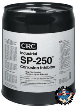 CRC SP-250 Corrosion Inhibitor, 5 Gallon Pail (5 PAL/EA)