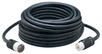 CCI Power Cords, 100 ft, 1 Outlet, Black (1 EA/EA)