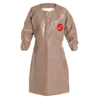 DuPont Tychem CPF3 Apron with Long Sleeves, 27 in X 43 1/2 in (6 CA/EA)