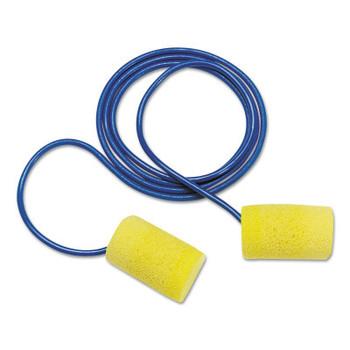 3M E-A-R Classic Foam Earplugs, Corded (100 EA/EA)