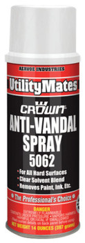 Aervoe Industries Anti-Vandal Spray, 14 oz Aerosol Can (12 CAN/EA)
