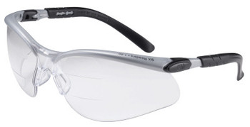 3M BX Safety Eyewear, +1.5 Diopter Polycarbon Anti-Fog Lenses, Silver/Black Frame (1 EA/CTN)