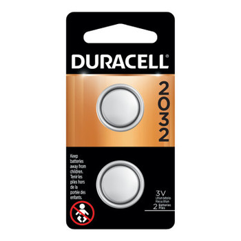 Duracell Duracell Batteries, Lithium Cell, 3 V, 2032 (144 CA/DR)