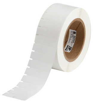 Brady Thermal Transfer Printable Labels, 0.920 in x 1.8 in, White/Translucent (1 RL/DR)