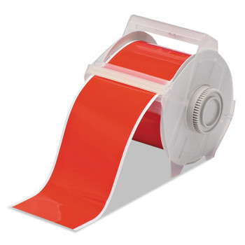 Brady GlobalMark Tapes, 100 ft x 4 in, Red (1 EA/CT)
