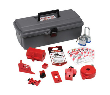 Brady Lockout Tool Box with Components (1 KT/BOX)