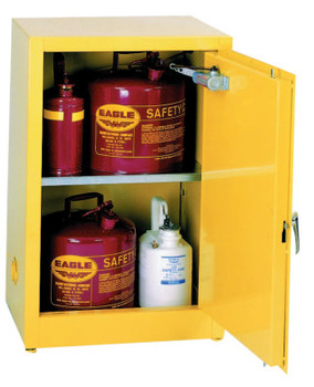 Eagle Mfg Flammable Liquid Storage, Self-Closing Cabinet, 12 Gallon (1 EA/CA)