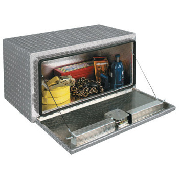 "Apex Tool Group Tall Aluminum Underbed Truck Boxes, 48"" x 18"" x 18"", Bright (1 EA/CTN)"
