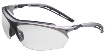 3M Maxim GT Safety Eyewear, Clear Lens, Anti-Fog, Black/Silver Frame (1 EA/EA)