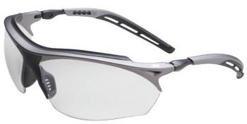 3M Maxim GT Safety Eyewear, Clear Lens, Anti-Fog, Black/Silver Frame (1 EA/EA)