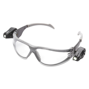 3M Light Vision Safety Eyewear, Clear Lens, Polycarbonate, Anti-Fog, Clear Frame (10 EA/EA)