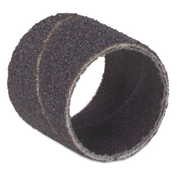 Merit Abrasives Merit Abrasives Spiral Bands, Aluminum Oxide, 50 Grit, 3/8 x 1/2 in (100 PK/CD)