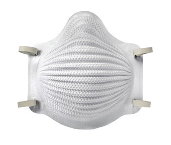 Moldex Airwave N95 Disposable Particulate Respirators, 2-Strap, Oil-Free Filter (10 BX/CA)