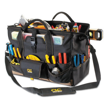 CLC Custom Leather Craft Soft Side Tool Bags, 37 Compartments, 11 in X 11 in (1 EA/EA)