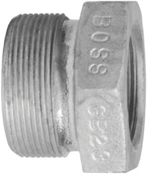 Dixon Valve Boss Ground Joint Spuds, 1 3/8 in, Plated Steel (1 EA/EA)