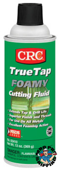 CRC TrueTap Foamy Cutting Fluids, 16 oz, Aerosol Can (12 CAN/EA)