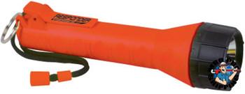 Bright Star Responder Series Submersible Flashlights, 3 C, Orange (1 EA/EA)
