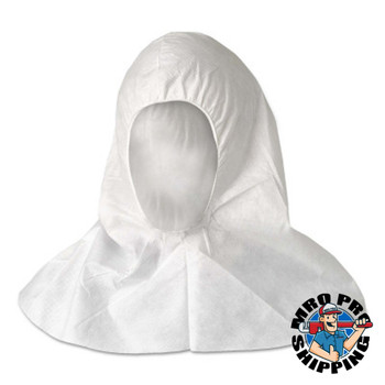 Kimberly-Clark Professional Kleenguard A20 Breathable Particle Protection Hoods, Universal, White (100 CS/EA)