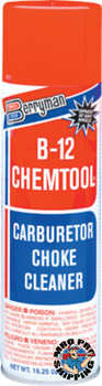 Berryman B-12 CHEMTOOL Carburetor/Choke Cleaners, 16 1/4 oz Aerosol Can (12 CN)
