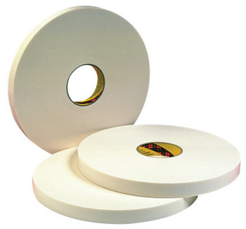 3M Double Coated Urethane Foam Tapes 4016, 1/2 in x 36 yd, 1/16 in, Natural (1 ROL/EA)