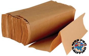Boardwalk Multi-Fold Paper Towels, Kraft (16 PK)