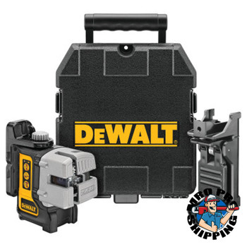 DeWalt Three Beam Line Lasers, 165 ft Range (1 EA/BOX)