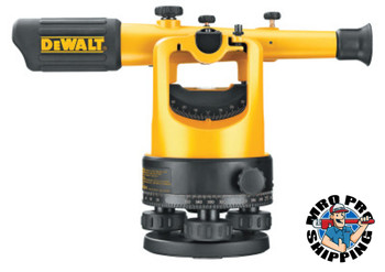 DeWalt Optical Instruments, Transit Level Kit, 200 ft Range (1 KIT/EA)