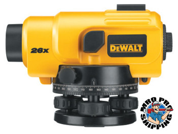 DeWalt Optical Instruments, 300 ft Range (1 KT/EA)