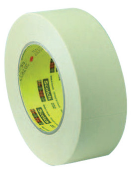 3M Scotch High Performance Masking Tapes 232, 5.35 in X 55 m (72 ROL/EA)